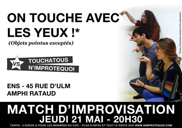 Match d'improvisation 21 mai 2015