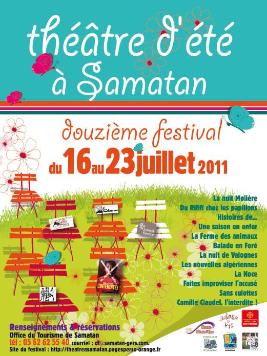 Festival de théâtre de Samatan - 2011